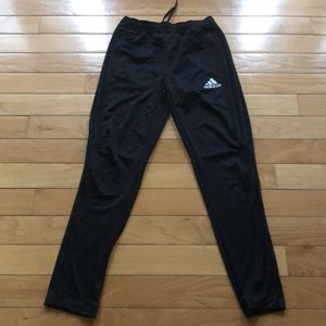 Boys Large Adidas Black Climacool Jogger Pants